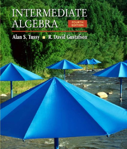 9780495554592: Student Workbook for Intermediate Algebra, 4th