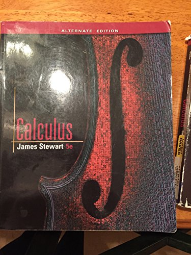 Calculus: James Stewart