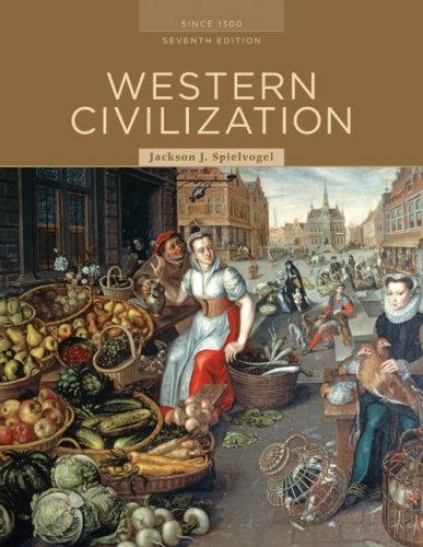 9780495555285: Western Civilization: Alternate Volume: Since 1300, Seventh Edition