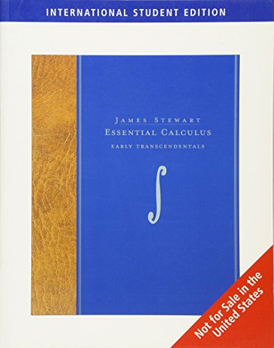 9780495556206: Essential Calculus: Early Transcendentals