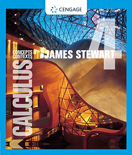Calculus: Concepts and Contexts: James Stewart
