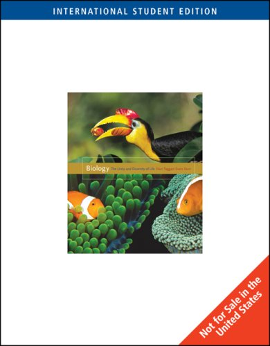 Biology The Unity and Diversity of Life: Cecie Starr (Author),