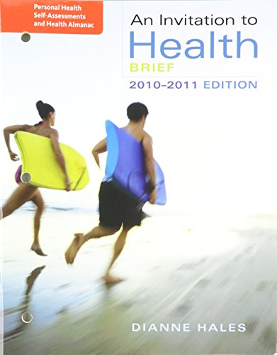 9780495560975: Personal Health Self-Assessment/Health Almanac for Hales' An Invitation to Health, Brief Edition, 6th