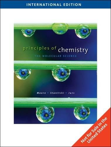 9780495561293: Principles of Chemistry-the Molecular Science