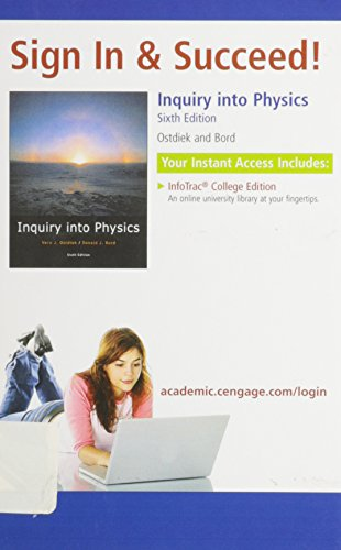 9780495563556: Inquiry Into Physics: Sign in and Succeed