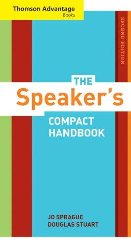 9780495565499: Cengage Advantage Books: The Speaker's Compact Handbook (Thomson Advantage Books)