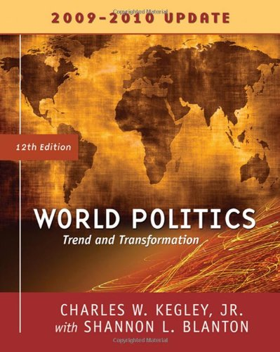 9780495565697: World Politics: Trends and Transformations