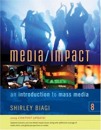 9780495565963: Media/Impact: An Introduction to Mass Media, 2009 Update