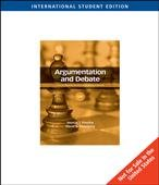 9780495566892: Argumentation and Debate: Critical Thinking for Reasoned Decision Making