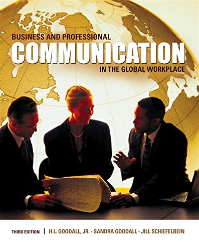 9780495567387: Business and Professional Communication in the Global Workplace