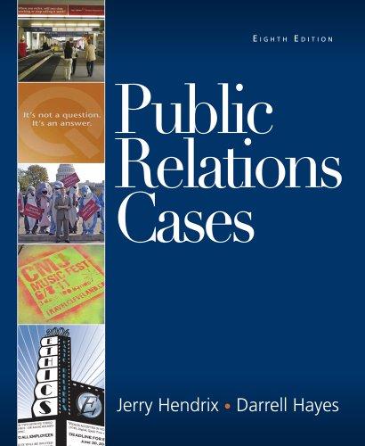 9780495567783: Public Relations Cases