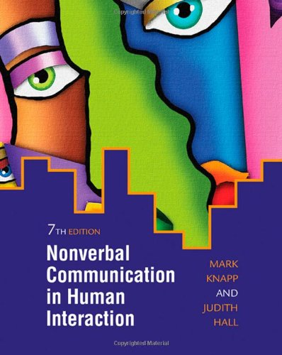 9780495568698: Nonverbal Communication in Human Interaction