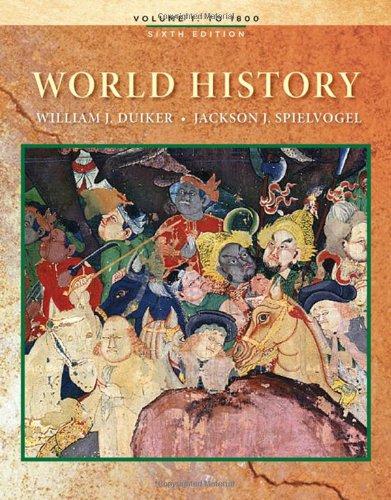 9780495569022: 1: World History, Volume I