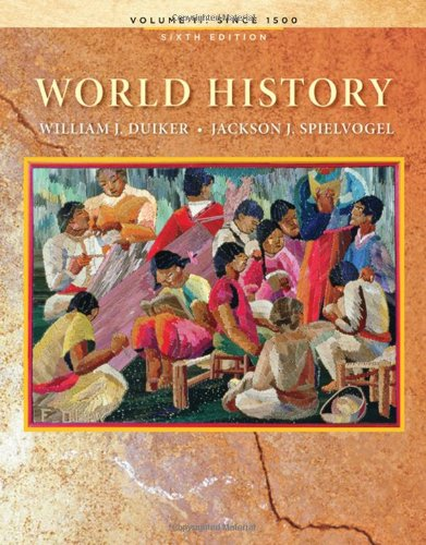 9780495569039: World History, Volume II