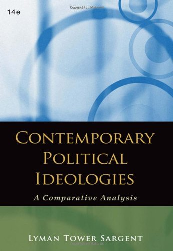 9780495569398: Contemporary Political Ideologies: A Comparative Analysis