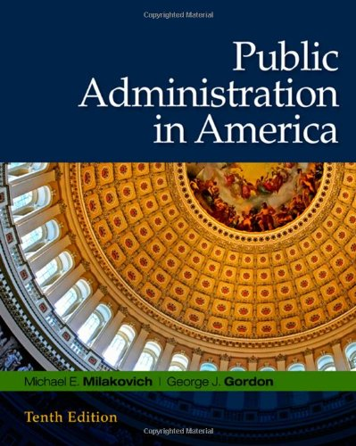 9780495569404: Public Administration in America