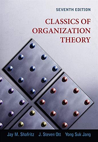 9780495569411: Classics of Organization Theory