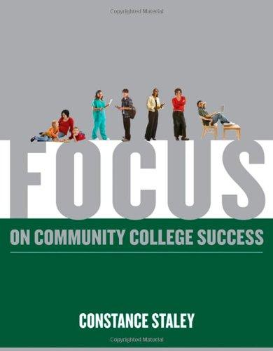 9780495569558: FOCUS on Community College Success