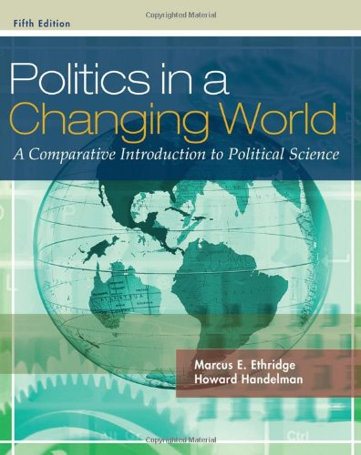 9780495570486: Politics in a Changing World