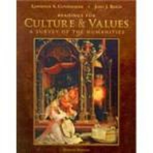 Readings for Cunningham/Reich's Culture and Values: A: Cunningham, Lawrence S.,