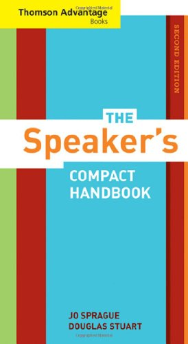 9780495570790: Cengage Advantage Books: The Speaker's Compact Handbook, Revised