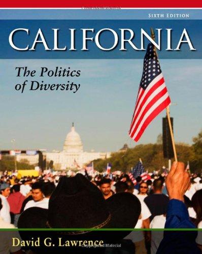 9780495570974: California: The Politics of Diversity