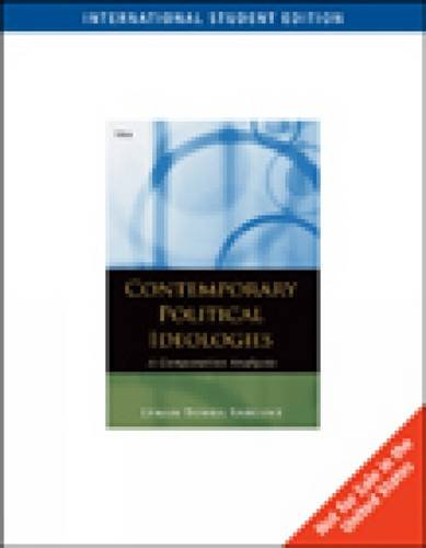 9780495571070: Contemporary Political Ideologies, International Edition