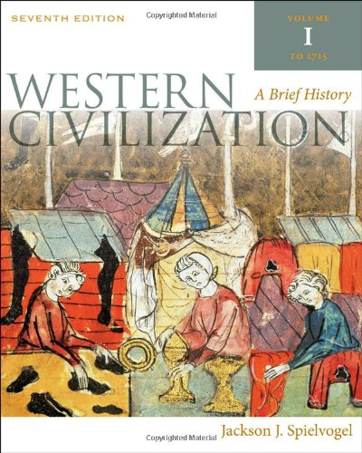 9780495571483: Western Civilization: A Brief History, Volume I: To 1715
