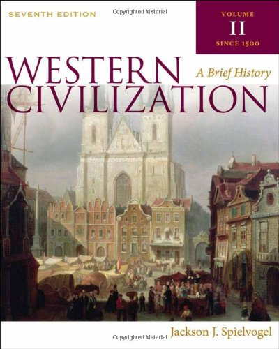 9780495571490: Western Civilization: A Brief History, Volume II: Since 1500: 2