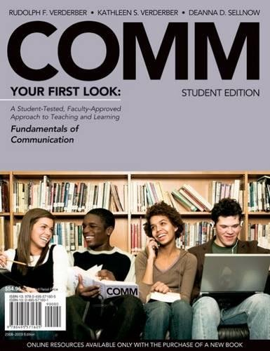 9780495571605: COMM Preview Edition