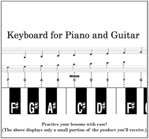 9780495571841: Keyboard for Piano and Guitar
