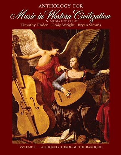 9780495572749: Anthology for Music in Western Civilization, Volume I: Media Update