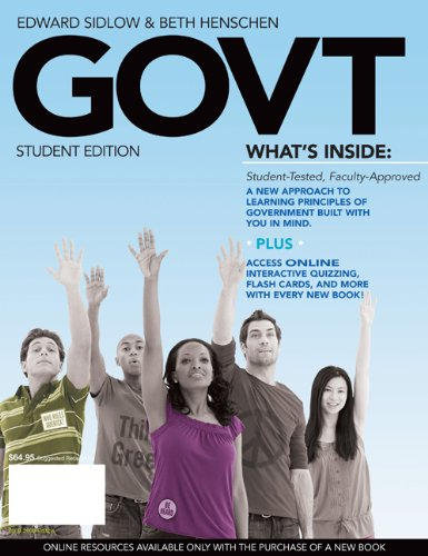 9780495573395: GOVT 2010 Edition (with Bind-In Printed Access Card)