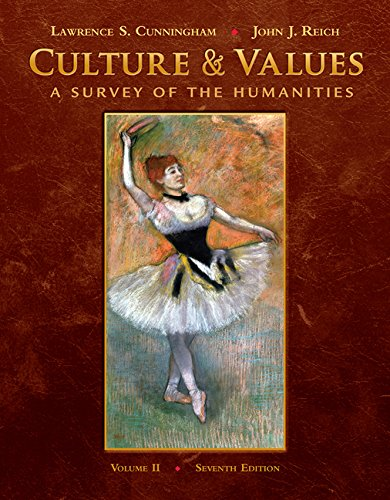 9780495573548: Culture and Values: A Survey of the Humanities, Volume II