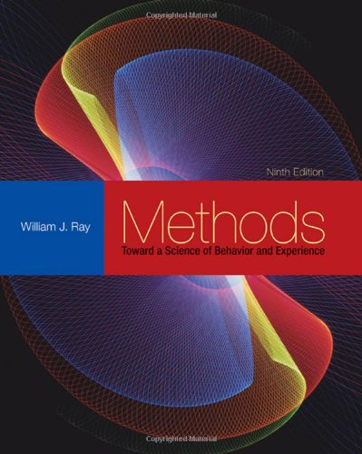 9780495594918: Methods Toward a Science of Behavior and Experience