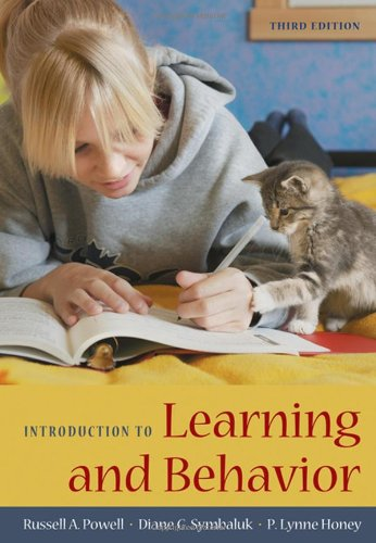 9780495595281: Introduction to Learning and Behavior
