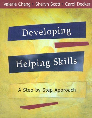 9780495595687: Developing Helping Skills: A Step-by-Step Approach