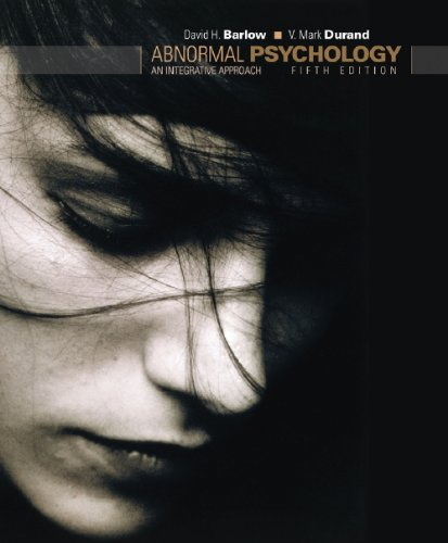 9780495595847: Abnormal Psychology: An Integrative Approach