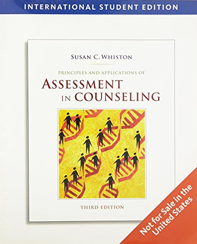 9780495596431: Principles and Applications of Assessment in Counseling, International Edition