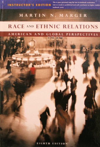 9780495598091: Race and Ethnic Relations