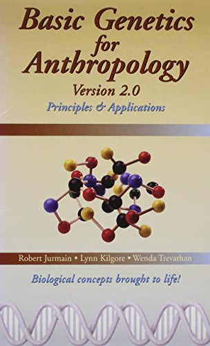 Basic Genetics for Physical Anthropology CD-ROM, Version 2.0 (0495598313) by Jurmain, Robert; Kilgore, Lynn; Trevathan, Wenda