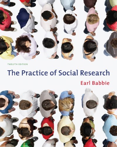 Guided Activities for Babbie's The Practice of Social Research, 12th (049559847X) by Babbie, Earl R.