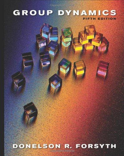 9780495599524: Group Dynamics, 5th Edition