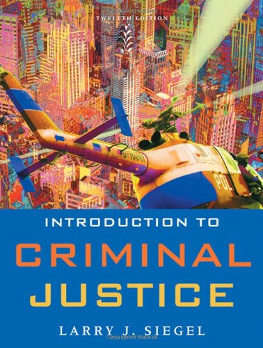 9780495599777: Introduction to Criminal Justice (Available Titles CengageNOW)