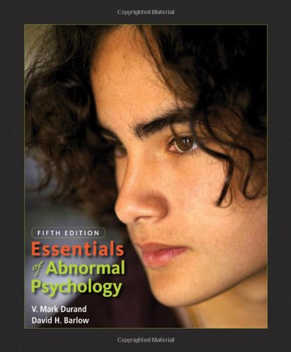 9780495599821: Essentials of Abnormal Psychology (with CD-ROM)