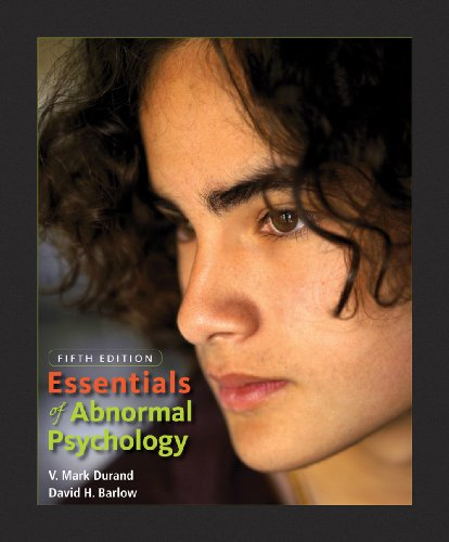 9780495599838: Essentials of Abnormal Psychology (with CD-ROM)