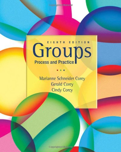 9780495600763: Groups Process and Practice, 8th Edition