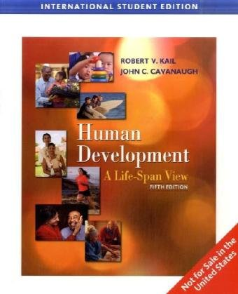 9780495600770: Human Development: A Life-Span View (Fifth Edition)