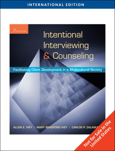 9780495601272: Intentional Interviewing and Counseling, International Edition