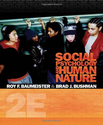 9780495601333: Social Psychology and Human Nature